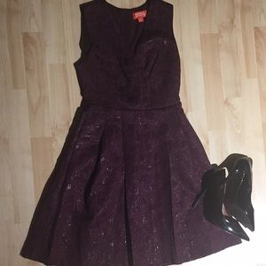 Kirna Zabete Target | Purple Flare Dress